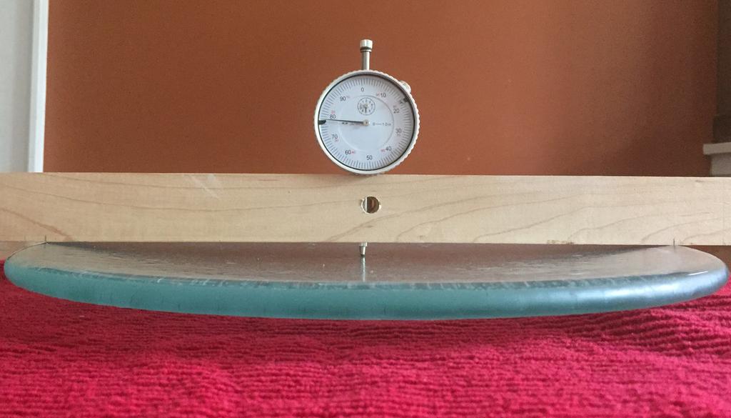 Measuring sagitta